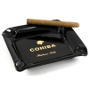 VINBRO.COM Popular 1/2/3/4 Count Crystal Tabletop Cigar Cigarette Pipe Ashtray Wooden Leather Folding Pocket Ashtrays