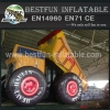 Inflatable Heavy Haulin Dump Truck Slide