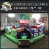 Kids Zone Inflatable Farm Themed Obstacle Course