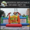 Large Inflatable Jungle Bounce Playgrounds