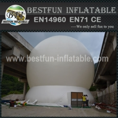 White Inflatable Portable Magic Projection Dome for Planetarium Laser Shows