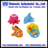 Baby floating bath toy(duck/dolphin/octopus/clown fish)