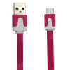 Colorful flat Micro USB 2.0 Data sync Charger cable For Nokia HTC Samsung galaxy smart mobile phone