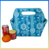 Portable polyester leisure insulated packs bottle cooler bag