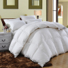 Washed White Duck Down Feather Filled Duvet, Comforter, Insert