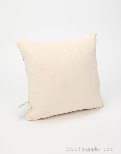 Rose white goose feather&down cushion insert