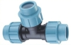 Tee/PP Compression Fittings Equal Tee