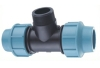 Tee/PP Compression Fittings Male Threaded Tee