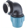 Elbow/PP Compression Fittings Female Threaded Elbow