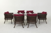 wicker Dining Room Set .