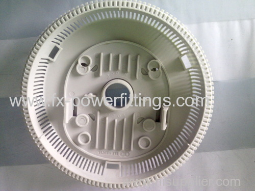 High Precision White Plastic Injection Mould Parts Making Services, Injection Molded Parts