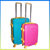 2014 new style ABS suitcase designer luggage trolley set