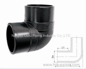 Elbow/90 Deg Elbow/90 Degree Elbow Butt Fusion /HDPE 90 Degree Elbow Butt Fusion Pipe Fitting