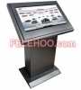 42 Inch LCD All In One PC Touch Screen Totem Digital Signage