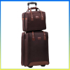 Hot sale fashion business trip trolley case top 10 luggage sets