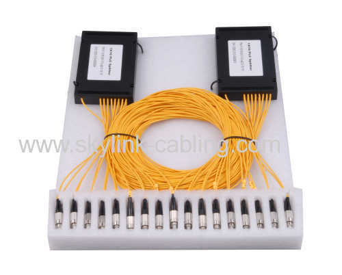 1x8 box type FC Plc splitter
