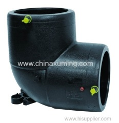 HDPE Electrio Fusion 90 Degree Elbow Fittings For Gas