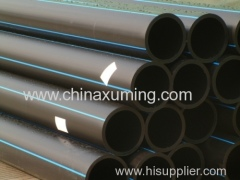 HDPE Pipes With PE80 for Water and Gas