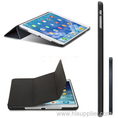 Gorgeous Genuine Leather Cover Case for iPad Air/ Flip Leather Case