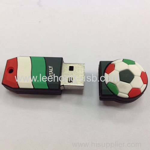 USB flash drive with pvc case