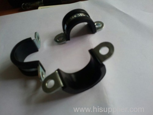 U TYPE FIXING CLAMP WITH RUBBER