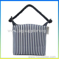 New design canvas beauty bag make up bag for lady