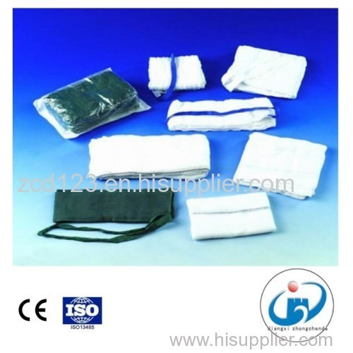 Surgical X-ray Disposable Abdominal Pad Lap Sponge