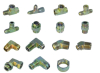 Stainless steel Carbon steel Brass Hydraulics Adapters nomenclature