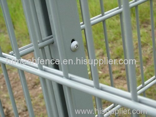 Welded Double Wire Fence Panel Double Wire Mesh Panel Fence