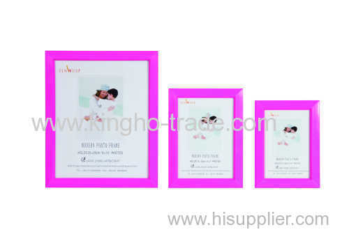 Rose Red PVC Extruded Tabletop Photo Frame