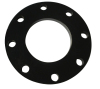 PE Antirust steel socket flange