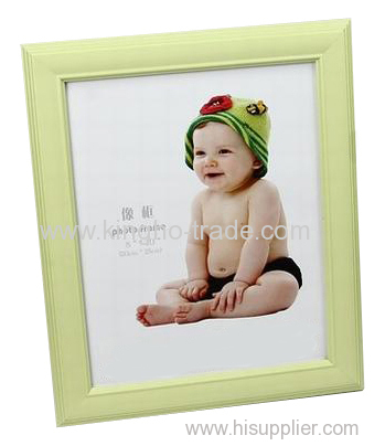 Light Green PVC Extruded Foto Frame