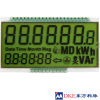 STN Positive/Transflective,55.0x31.0 energy meter LCD panel