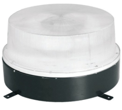Round induction canopy light fixture