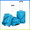 Stylish lightweight fashion polyester trolley luggage bag