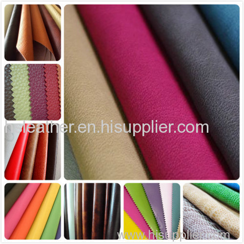 Mid-grade chinese PVC artificial leather for bags, footware, decorating, furnishing, sofa
