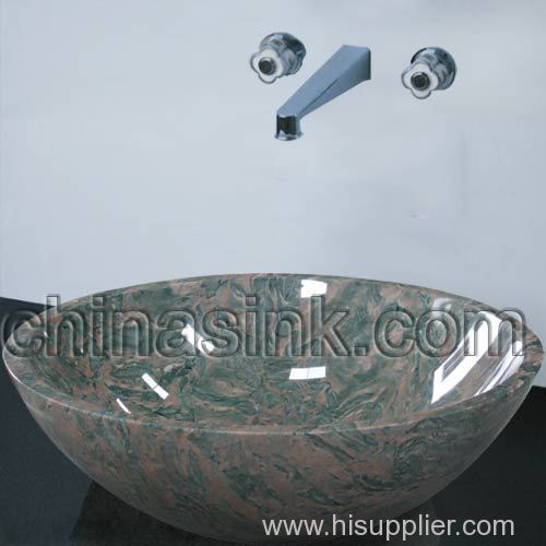 Royal Cobble Granite Vessel Sinks