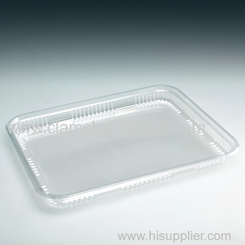 Hot sale plastic food packaging tray