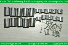 made in China hardware parts with precision casting processing CNC machining