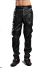 Motorcycle PU Leather pants for men