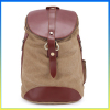 2014 popular durable canvas shoulder package laptop computer backpack bag