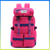 Korea style high density canvas girls shoulders bag camping and hiking backpack