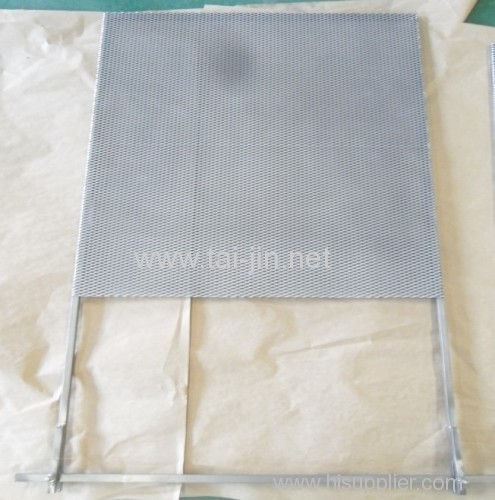 Titanium plantium mesh sheet anodes use in electroplating industrial