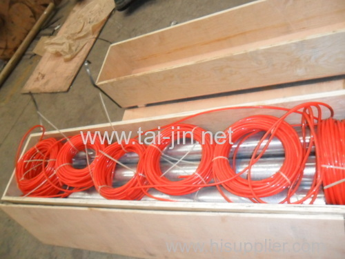 MMO titanium tubular anode connect with cable used for deep well system