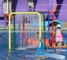 Children Recreation Waterfall Spray Park Equipment for Amusement Park