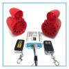motorcycle audio alarm system with fm