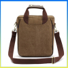 Trendy new desing leisure cross body bag canvas computer message bag