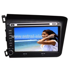 wholesale cheap HONDA 2012 LEFT CIVIC Special car dvd radio navigation Android system oem price