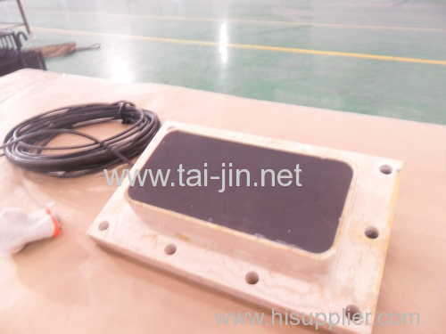 Designed MMO titanium sheet anode for anti-fouling of Ship