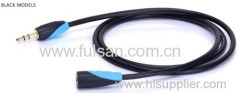Factory Sell 3.5mm Stereo extension Cable Male to Female